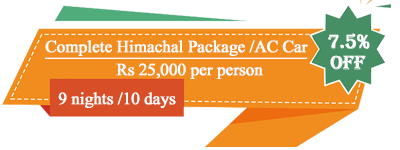 Complete Himachal Package By AC Car