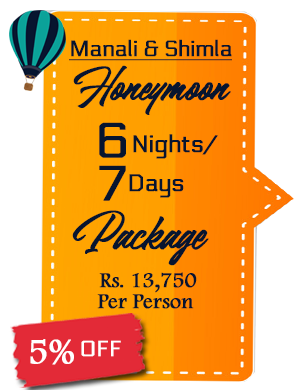 Manali with Shimla Honeymoon Package