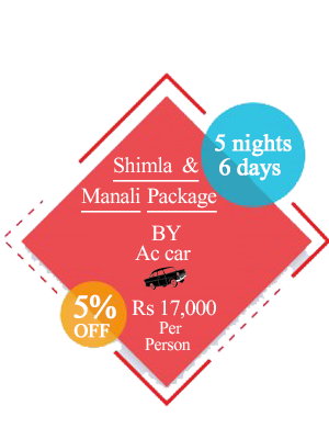 Shimla Manali Package By AC Car