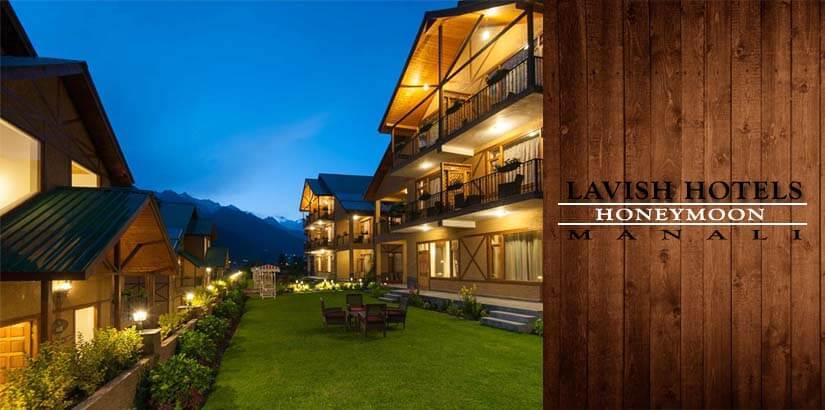 Lavish Honeymoon Hotels in Manali