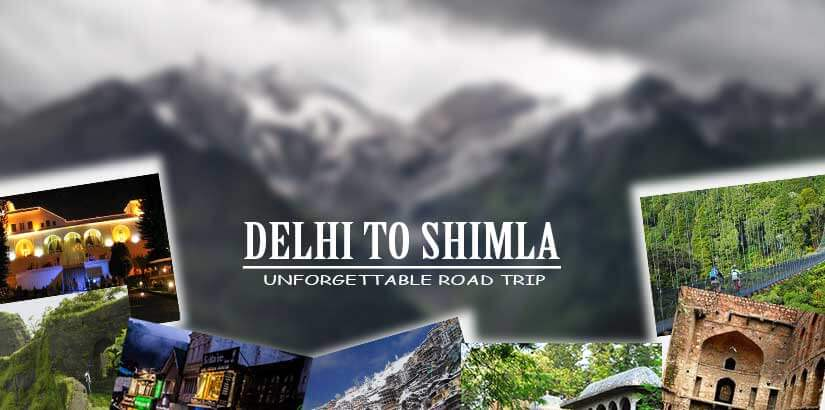 Places You Cannot Miss While Traveling from Delhi to Shimla by Car