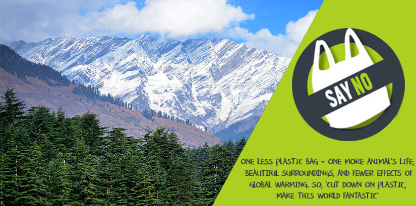 Say A Big NO to Plastic on Your Manali Trip