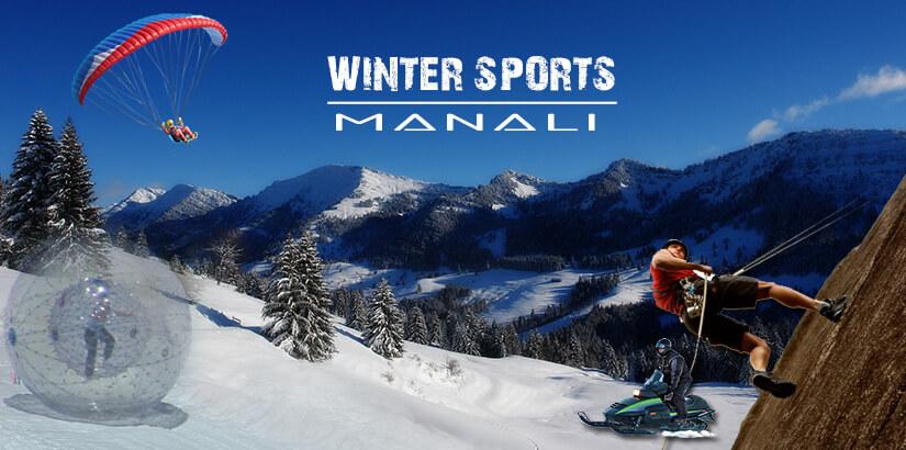 Winter Sports in Manali