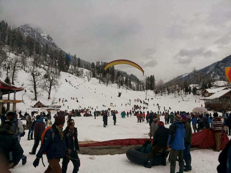 Climate in Manali