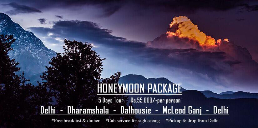 Delhi Dharamshala Dalhousie McLeodGanj Honeymoon Package