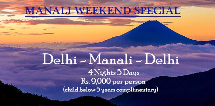 Manali Weekend Special