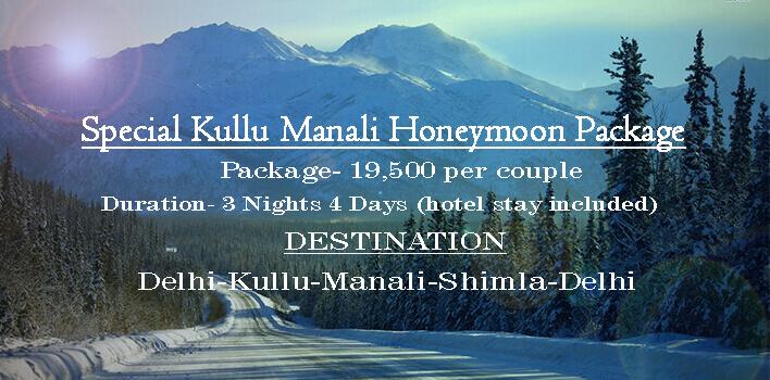 Special Kullu Manali Honeymoon Package