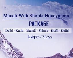 Manali with Shimla Honeymoon Package