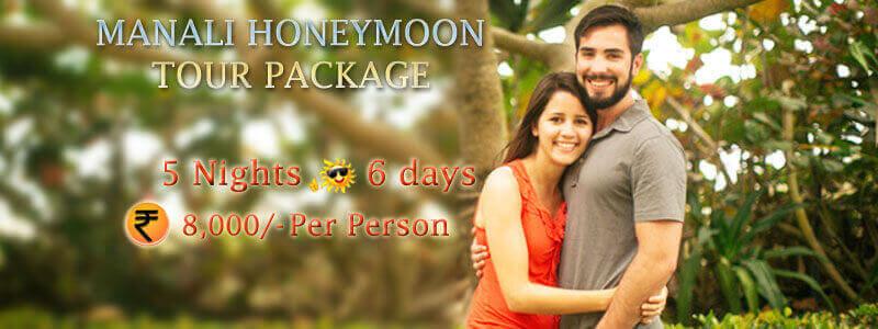 Manali Honeymoon Tour Package